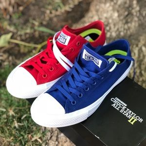 NWB ❤️💙CONVERSE ALL STAR 2 UNISEX VARIOUS SIZES